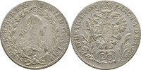 20 Kreuzer 1786 RDR Burgau Günzburg Joseph II., 1780-1790 ss  100,00 EUR  zzgl. 3,00 EUR Versand