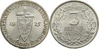 Deutsches Reich 3 Reichsmark Rheinlande