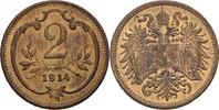 Österreich Ungarn Wien 2 Heller Franz Joseph, 1848-1916