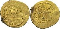 Byzanz Solidus Mauricius Tiberius 582-602