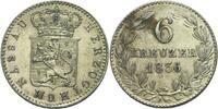 Nassau 6 Kreuzer Wilhelm, 1816 - 1839.