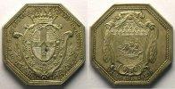 Jetons und Medaillen  jeton octogonal en argent   L. Lepeletier   1788    SUP