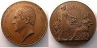 Ausländische Münzen  WIENER   Léopold I   25° anniversaire de l'inauguration du Roi   21 juillet 1856