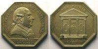 Jetons und Medaillen  Jeton octogonal en argent   Godefroid III de Bouillon   1788    TTB