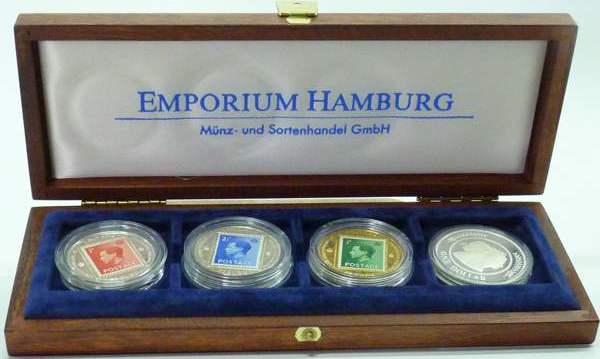 diverse 1996 England Kollektion England Medaillen Abdankung Edward VIII. und Profilmünze Elisabeth II PP, mit Zertifikat und Kassette