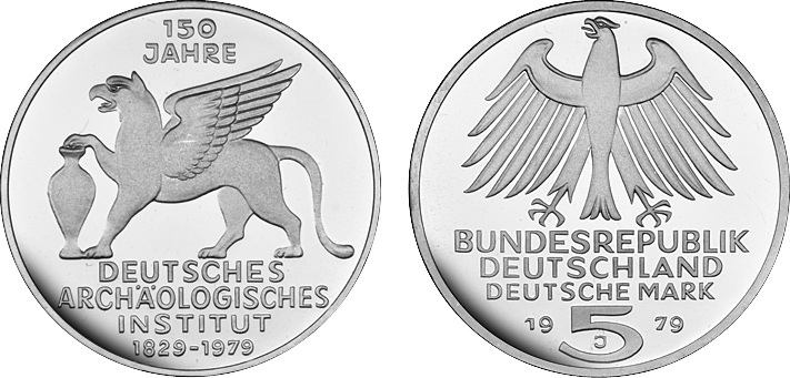 5 Dm Archäologisches Institut 150 Jahre Deutsches Archäologisches Institut