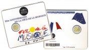 2 Euro Frankreich -   30 Jahre Fête de la Musique 2011 bfr im Blister 25,75 mm, ...