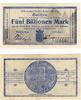 Mark   Crailsheim - Württemberg Stadtkasse 5 Billionen   14.11.1923 Kel... 245,00 EUR kostenloser Versand