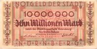 Nürnberg (Bayern) - Stadt, 10 Mio. Mark