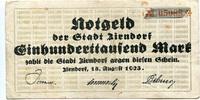 Zirndorf (Bayern) - Stadt, 100 Tsd. Mark