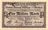 Haslach, Hausach ... (Baden) - Städte gemeinsam, 1 Mio. Mark