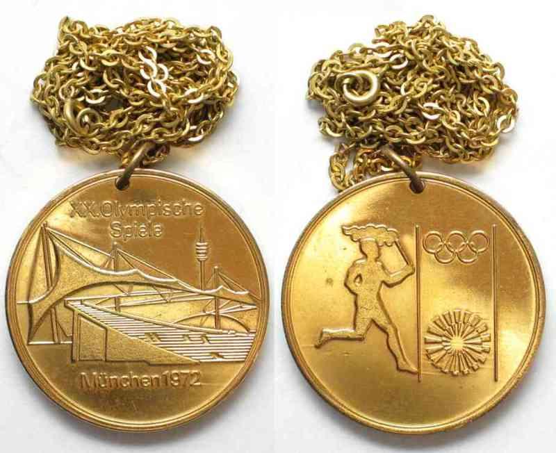 1972 Deutschland Medaillen Xx Olympische Spiele München 1972