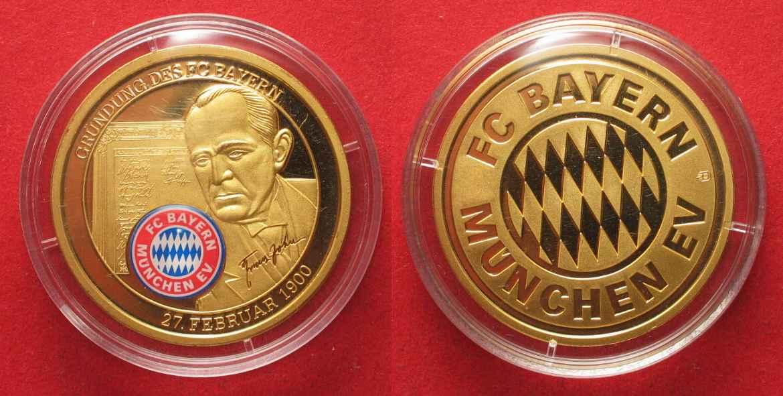 2000 Deutschland Medaillen 100 Jahre Fc Bayern München 2000