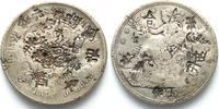 Vereinigte Staaten von Amerika  USA Trade Dollar 1875 S Silber - CHINESISCHE PRÜFZEICHEN - # 92096