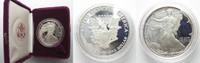 Vereinigte Staaten von Amerika  USA 1 Dollar 1986 S AMERICAN EAGLE Silber 1 Unze POLIERTE PLATTE m. Box # 95435
