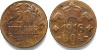 Deutsch-Ostafrika  1916 f.st DEUTSCH-OSTAFRIKA 20