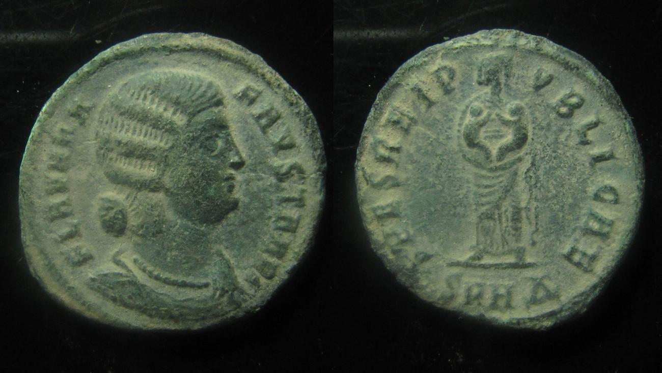 Vf Roman Empire Fausta Ae 19 Mm Follis Ma Shops