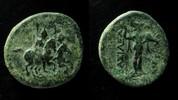 Seleukid Kingdom  Seleukid Kingdom, Antiochos II Theos, 261 - 246 B.C AE 22 mm.