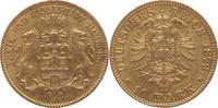 Hamburg 10 Mark Gold