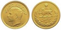 1/2 Pahlavi Gold 1955 Iran Mohammed Reza P...
