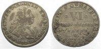 Lippe-Detmold 1/6 Taler Simon Heinrich Adolf 1718-1734.