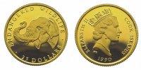 Cook Islands 25 Dollars Gold Elizabeth II. seit 1952.