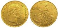 Dänemark 20 Kronen Gold Christian IX. 1863-1906.