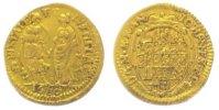 1/4 Dukat Gold 1680 Brandenburg-Ansbach Jo...