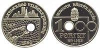 Ungarn 1000 Forint Republik ab 1989.