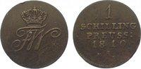 Brandenburg-Preußen Cu Schilling Friedrich Wilhelm III. 1797-1840.
