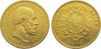 20 Mark Gold 1872  A Mecklenburg-Schwerin ...