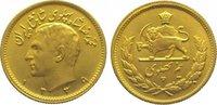 Iran 1/2 Pahlavi Gold Mohammed Reza Pahlavi, Shah (SH 1320-1358) 1941-1979.