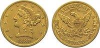 Vereinigte Staaten von Amerika 5 Dollars Gold