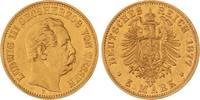 Hessen Ludwig III. 1848-1877. 5 Mark Gold 1877  H