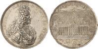 Braunschweig-Wolfenbüttel Silbermedaille 1694 Anton Ulrich, allein 1704-1714. Von größter Seltenheit
