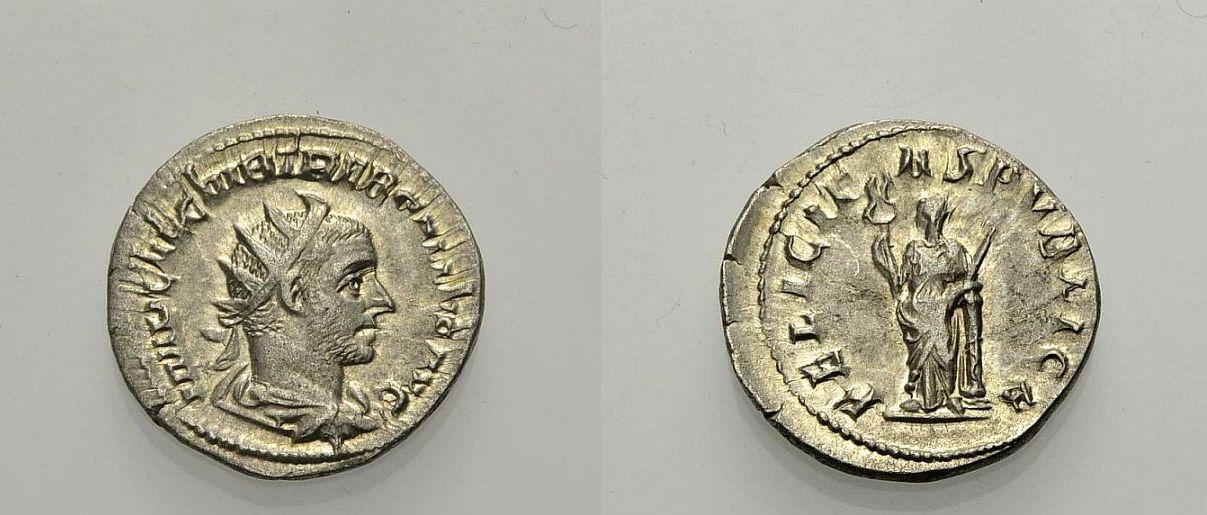 Antoninian 251-253 ROM, KAISERZEIT TREBONIANUS GALLUS Gutes sehr schön