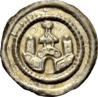 Pfennig 1180-1190 ALTDEUTSCHE MÜNZEN RAVENSBURG, KÖNIGLICHE MÜNZSTÄTTE Vorzüglich