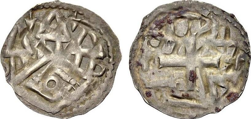 Pfennig 13 Jh Altdeutsche Münzen Tübingen Münzstätte Der