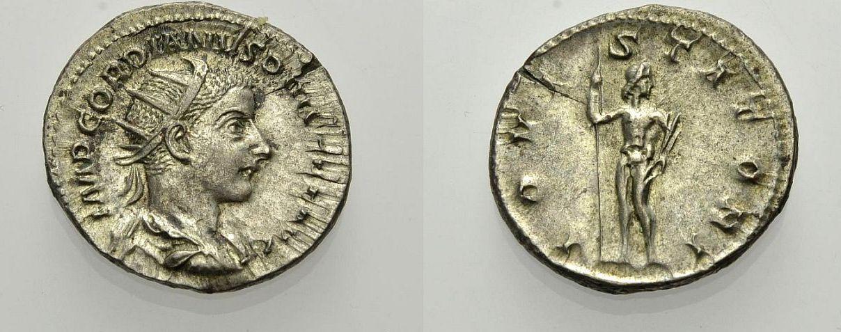AR Antoninian 241-243 ROM, KAISERZEIT GORDIANUS III. Knapp vorzüglich, Rv. Sehr schön