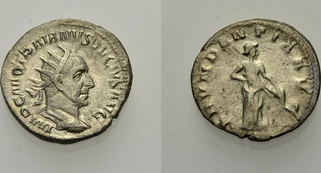 Antoninian 249-251 ROM, KAISERZEIT TRAJANUS DECIUS Vs. Vorzüglich, Rv. Schön
