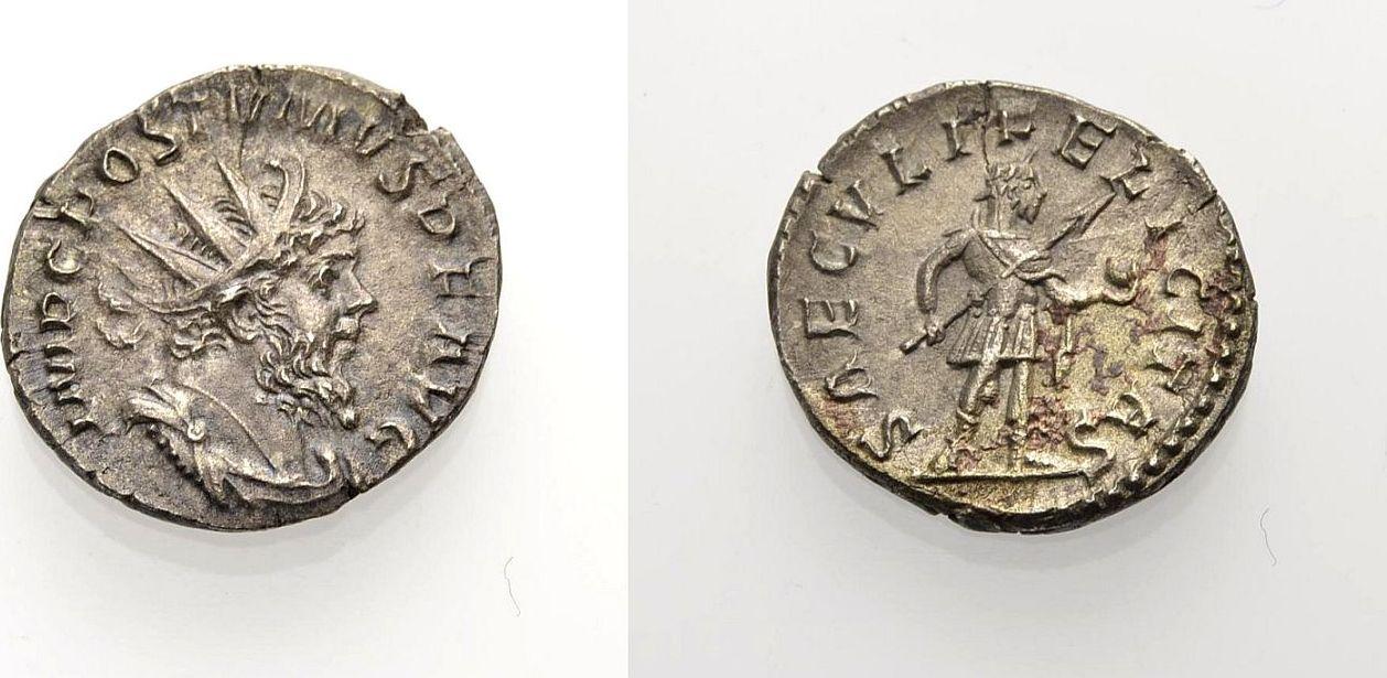 Antoninian 266-267 ROM, KAISERZEIT POSTUMUS Vorzüglich