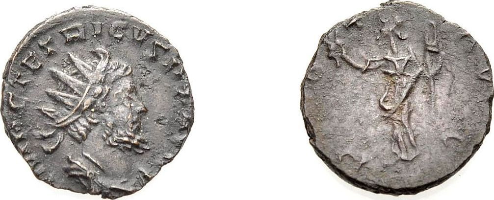 Antoninian 270-273 ROM, KAISERZEIT TETRICUS I. Sehr schön