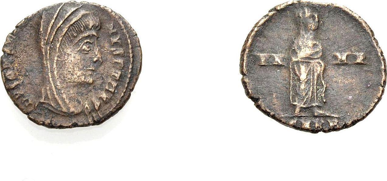 Nummus, postum 347-348 ROM, KAISERZEIT DIVUS CONSTANTINUS I. Schön bis sehr schön