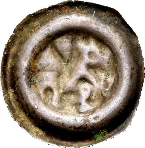 Brakteat 1253-1278 MÄHREN Premysl Otakar II. Sehr schön