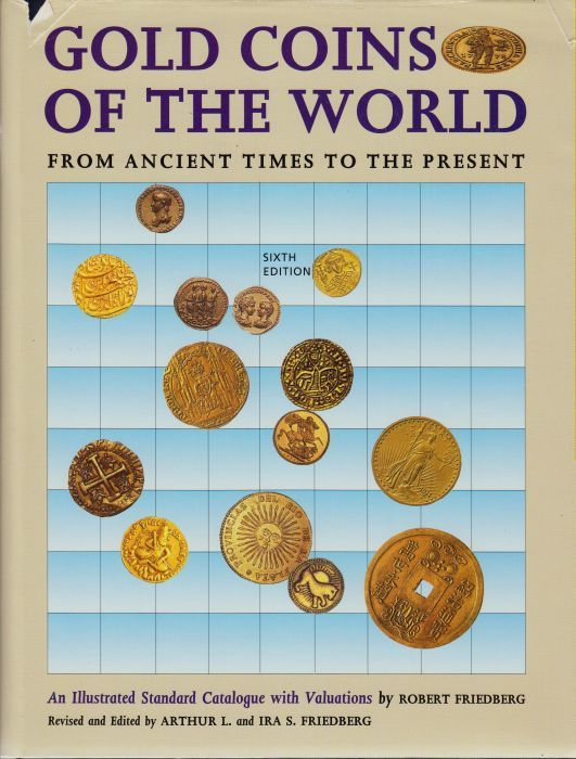 1992 FRIEDBERG Gold Coins of the World