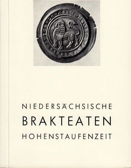 1967 SCHLÜTER Niedersächische Brakteaten der Hohenstaufenzeit