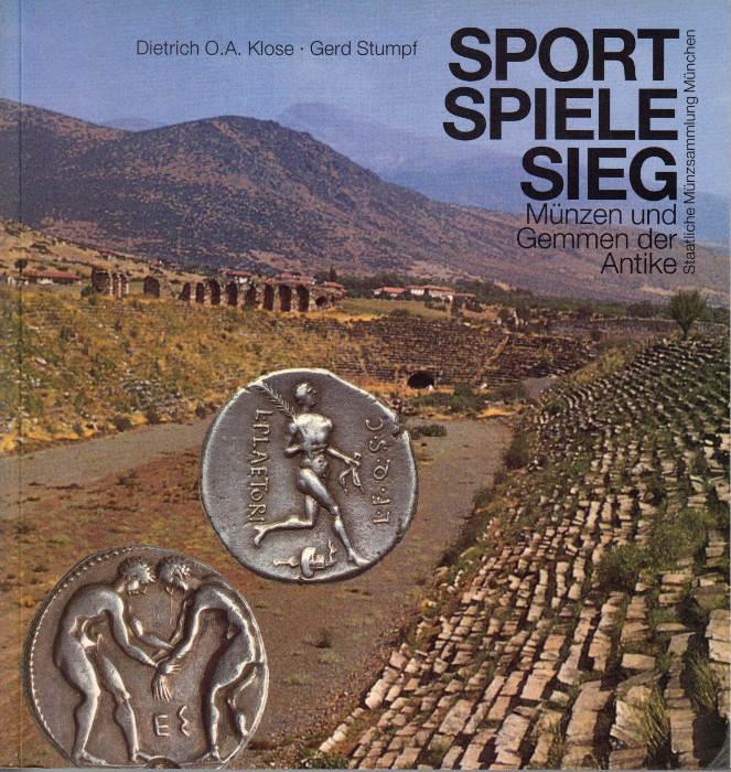 1996 KLOSE/STUMPF Sport, Spiele, Sieg. Münzen und Gemmen der Antike