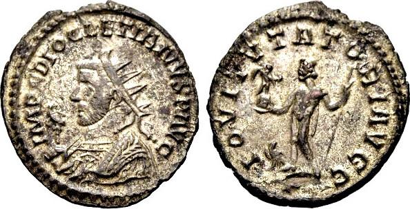 Antoninian 295-299 RÖMISCHE KAISERZEIT Cyzicus