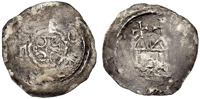 Pfennig 1024-1078 VILLINGEN GRAFEN VON ZÄHRINGEN Sehr schön