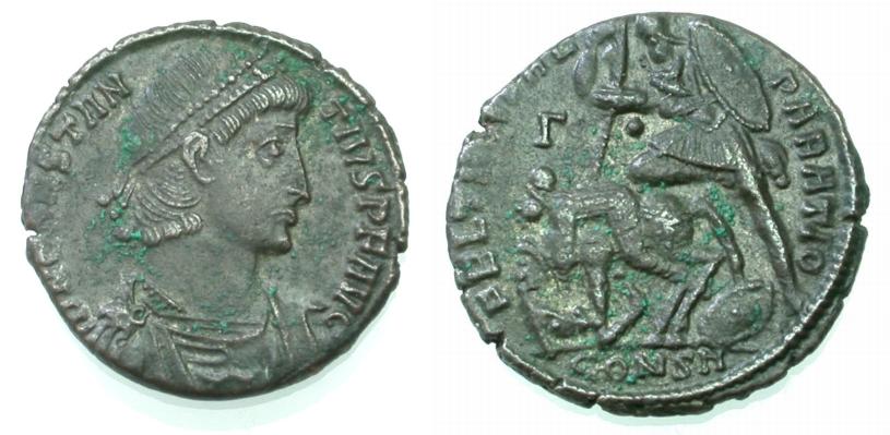AE Centenionalis 337-361 ROM, KAISERZEIT CONSTANTIUS II. Gutes sehr schön